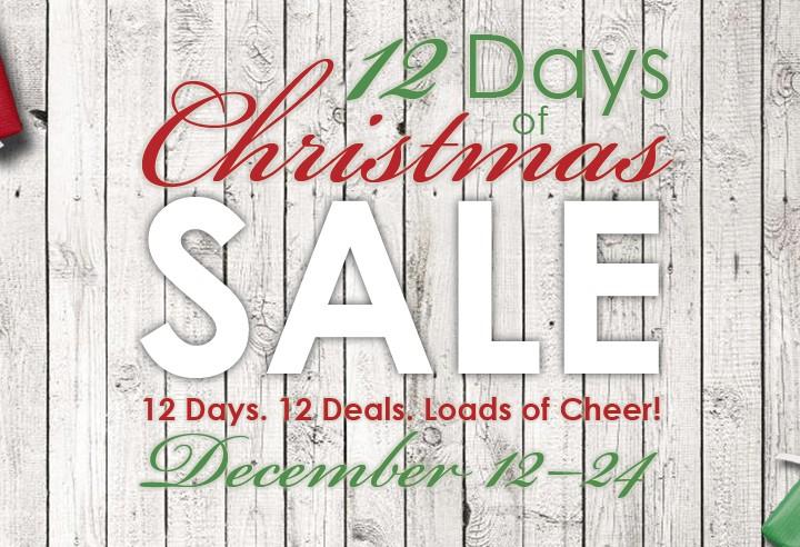 12 Days of Christmas SALE Revealed!