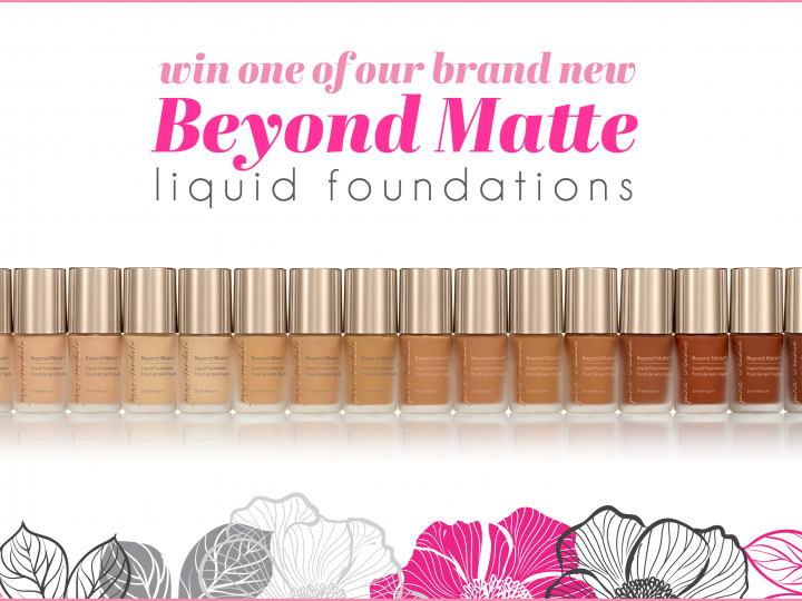 Win a Beyond Matte Liquid Foundation!