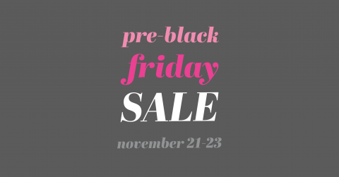 pre-black friday sale