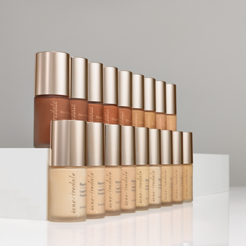 all 18 shades of Beyond Matte foundation